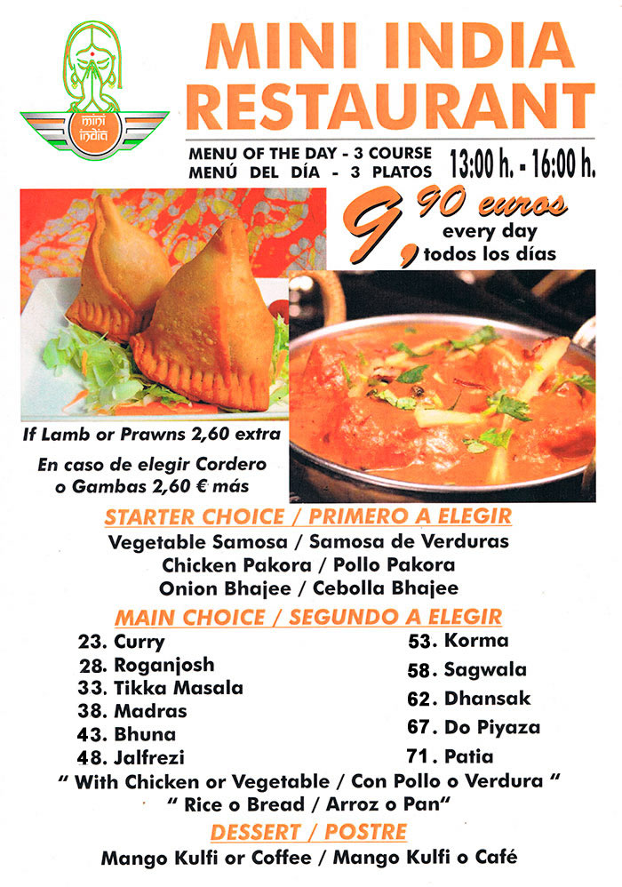 menu mini india 102988 marbella cup soccer