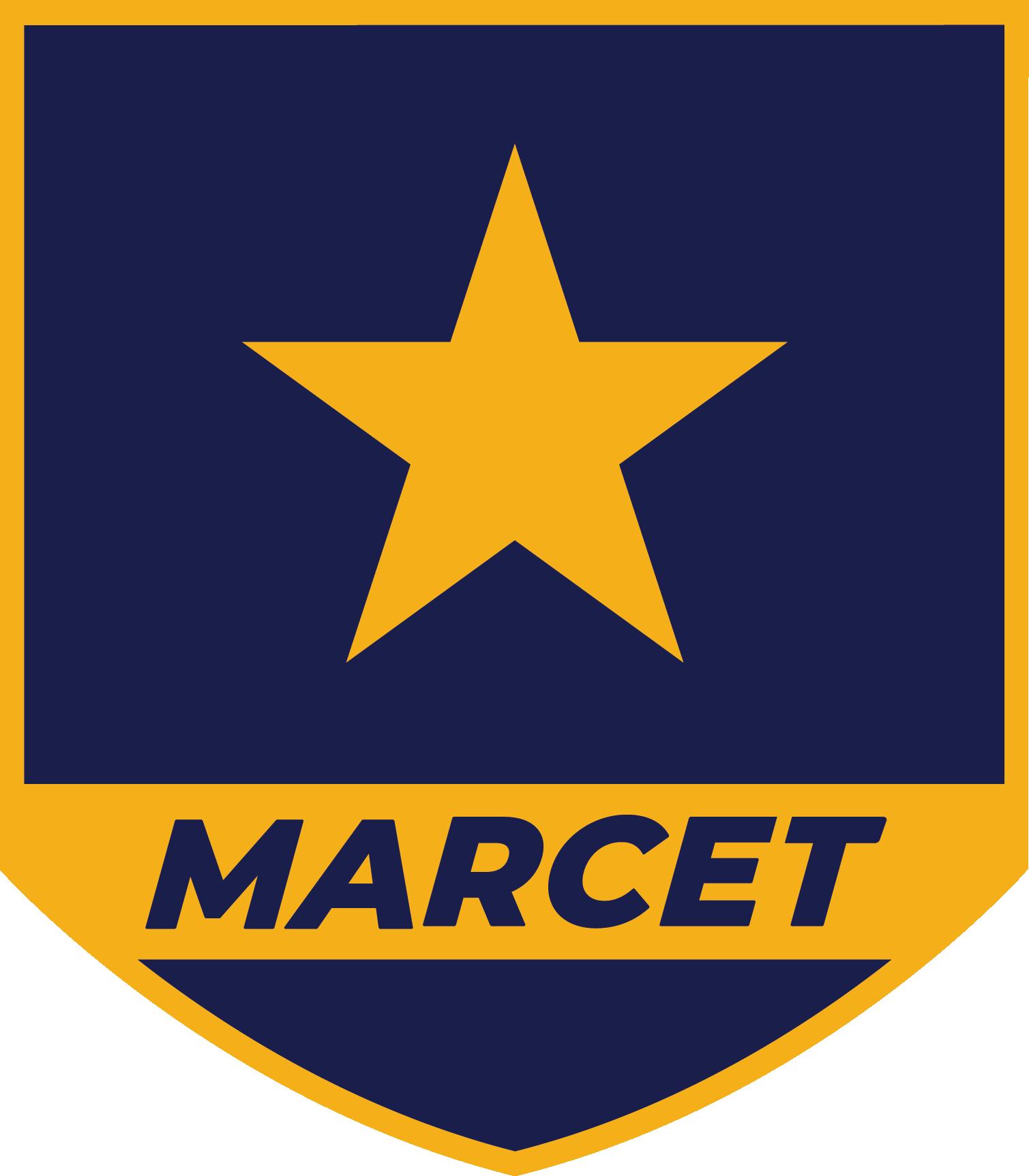 logotipo MARCET 2018