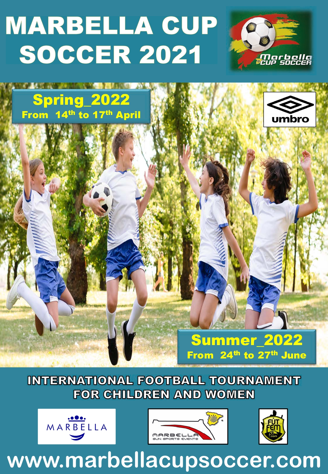 Poster MARBELLA CUP SOCCER_2022_English